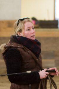 Stéphanie - enseignante au club d'équitation La Clairière du Findez